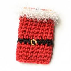Santa gift card holder-1