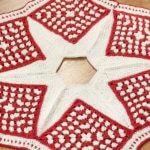 Crochet Christmas Tree Skirt Pattern — Part 2: The Star