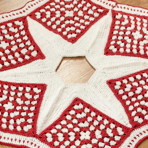 crochet christmas tree skirt pattern - Christmas Tree Skirt Patterns