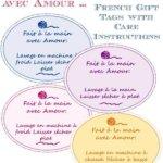 Étiquettes imprimables pour cadeaux pour les articles faits à la main … Printable Gift Tags for Handmade Items