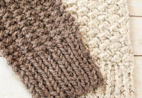 Quick and Comfy Knit Scarf Pattern ? #Scarfie - Petals to Picots