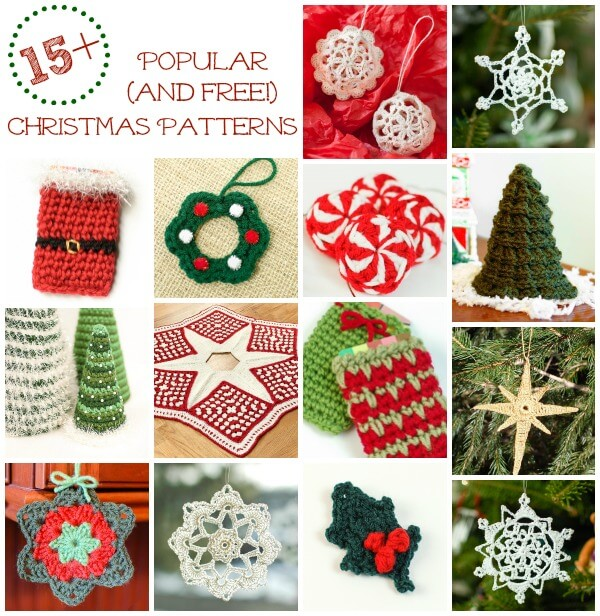 Free Crochet Christmas Crochet Patterns : Free Christmas Crochet Patterns