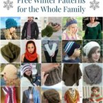 20 Free Winter Crochet Patterns for the Whole Family