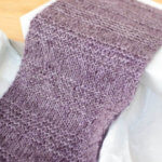 Luxurious Knit Scarf Pattern