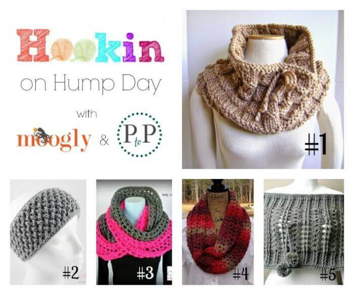 Hookin On Hump Day #87: Link Party for the Fiber Arts! #knit #crochet