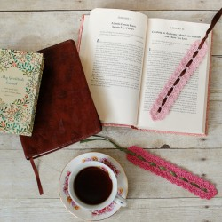 Lace Crochet Bookmark Pattern-5