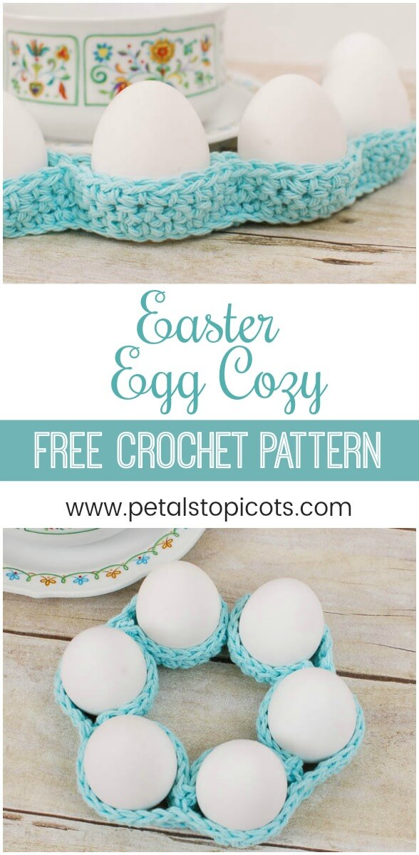 Crochet Egg Cozy Pattern ... Easter Table Decor!