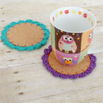 Flower Crochet Coasters Pattern