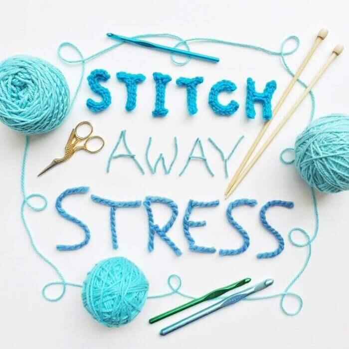 Stitch Away Stress #crochet #knit
