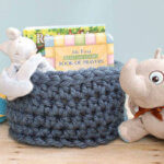 chunky crochet basket pattern (1 of 2)