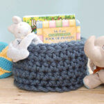 chunky crochet basket pattern (2 of 2)