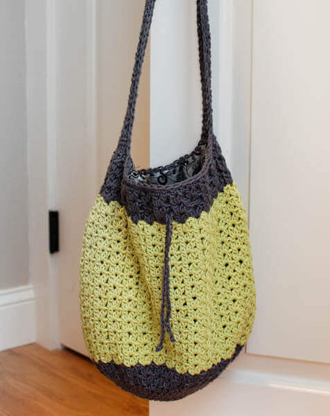 Crochet Summer Bag : Summer Crochet Bag Pattern www.petalstopicots.com #crochet # ...