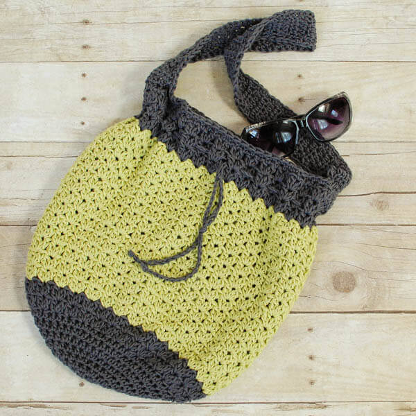 Crochet Bag Pattern -  Easy Summer Tote