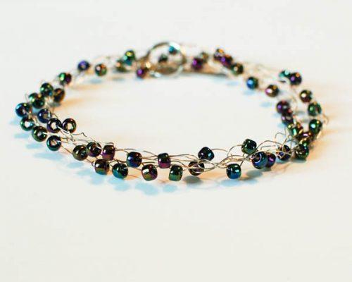 wire wrapped bracelet (5 of 5)