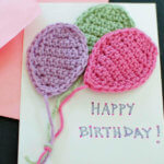 Crochet Balloons Applique Pattern