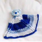 """Top This"" Bear Free Crochet Lovey Pattern"