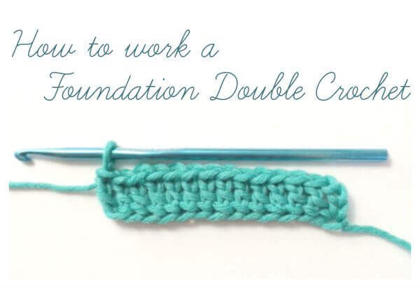 How to Work a Foundation Double Crochet {Photo Tutorial ...