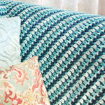 Sea Glass Crochet Afghan Pattern