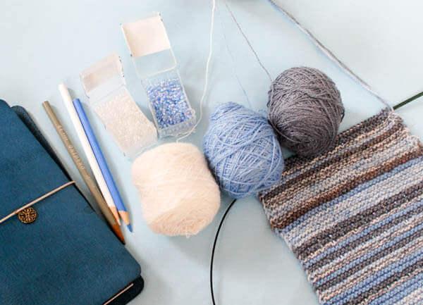 Knit the Sky Crochet and Knit Along