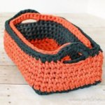 Rectangular Crochet Basket Pattern … Two Nesting Sizes!
