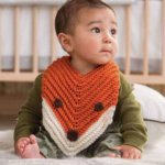 Finley the Fox Bib Free Crochet Pattern