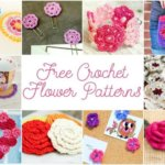 May Flowers … Free Crochet Flower Patterns