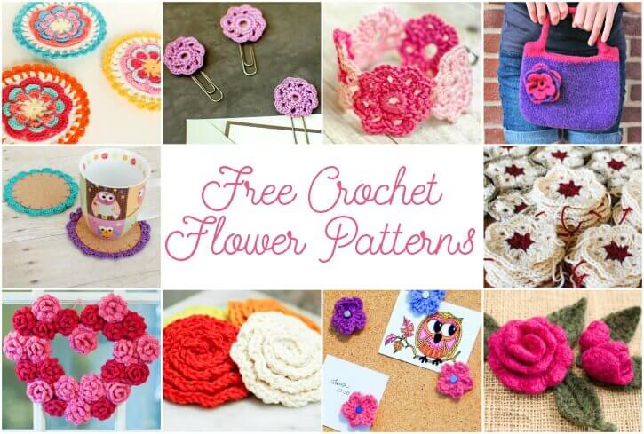 May Flowers Free Crochet Flower Patterns Petals To Picots