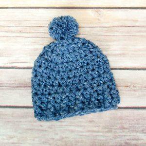 Preemie Crochet Hat Pattern, www.petalstopicots.com