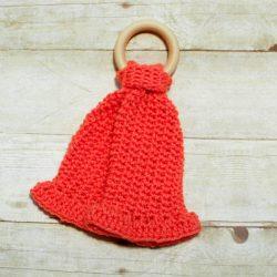 Teether Lovey Crochet Knit Pattern (1 of 3)