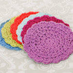 Easy Summer Crochet Coaster Set … Free Pattern