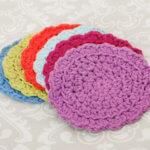 Easy Summer Crochet Coaster Set … Free Pattern