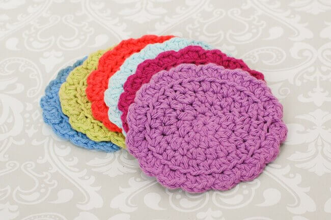 Easy Summer Crochet Coaster Set ... Free Pattern