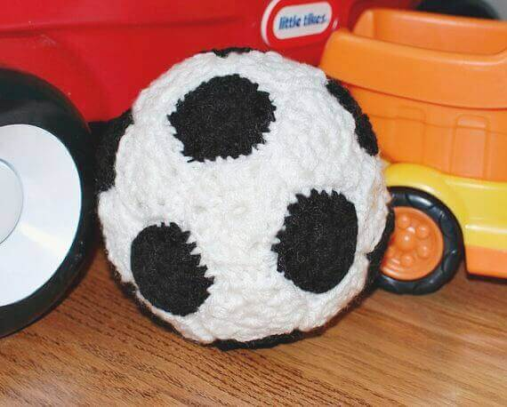 Crochet Soccer Ball Pattern