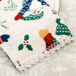Crochet Edging Pattern – Add a Lace Trim to Napkins