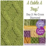 A Cable A Day: No Cross Diamond