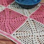 Retro-Chic Crochet Table Runner Pattern