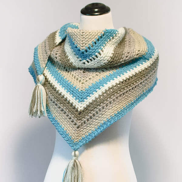 Crochet Shawl By Cake Ideas and Designs
