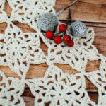 Snowflake Table Runner Crochet Pattern