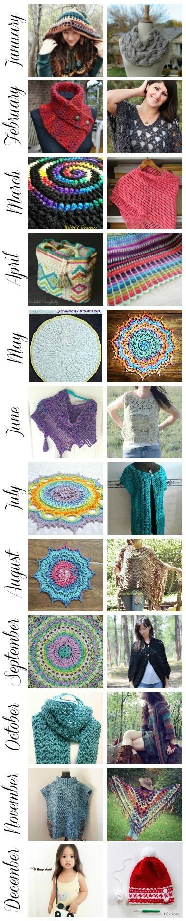 Best of Hookin' on Hump Day 2016 | www.petalstopicots.com | #crochet #fiber #knit