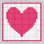 Tunisian Crochet Monthly Dishcloth Crochet Along …. February