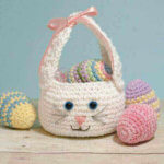 Easter Bunny Basket Crochet Pattern