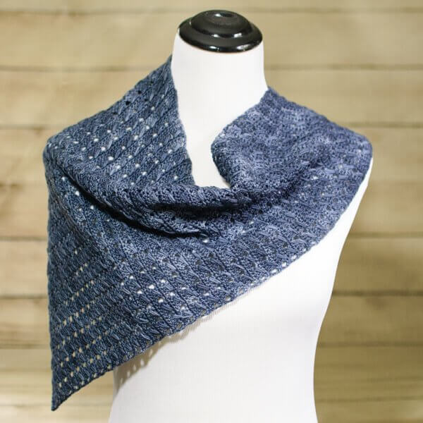 Any Season Asymmetrical Shawlette