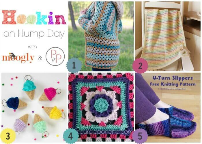 Hookin' on Hump Day #144: Link Party for the Fiber Arts