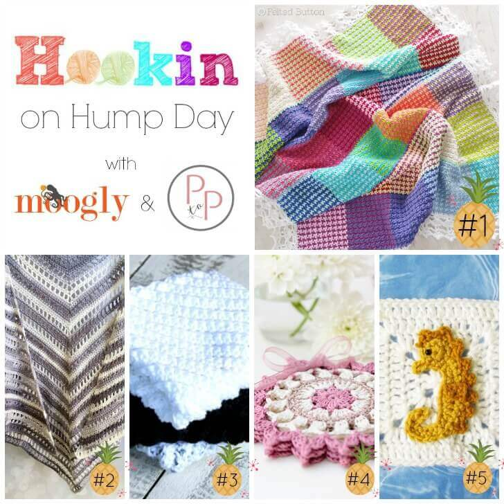 Hookin' on Hump Day #147: Link Party for the Fiber Arts | www.petalstopicots.com