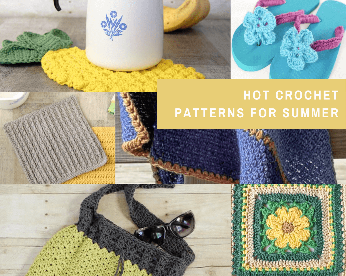 Hot Crochet Patterns for Summer