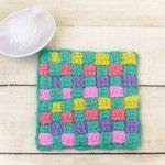 Woven Potholder Crochet Pattern