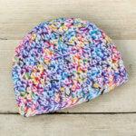 Baby Hat Crochet Patterns … Sizes Newborn through 12 Months