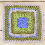 Aubrieta Bloom Afghan Square Crochet Pattern