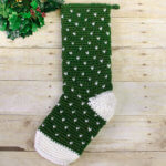 Evergreen Christmas Stocking Crochet Pattern