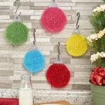 New Christmas Crochet Scrubby Patterns on Red Heart